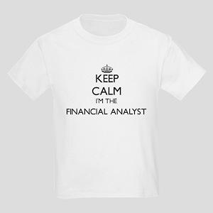 Keep calm I'm the Financial Analyst T-Shirt