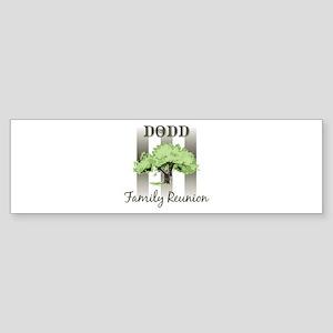 DODD family reunion (tree) Bumper Sticker