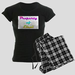 Property Of Eleni Female Women's Dark Pajamas