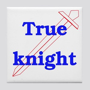 True Knight Tile Coaster