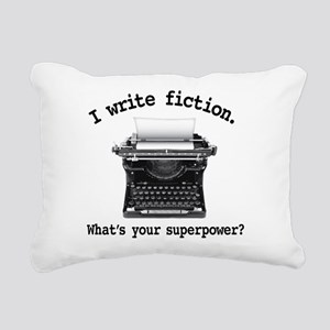 Superpower Rectangular Canvas Pillow