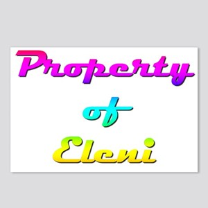 Property Of Eleni Female Postcards (Package of 8)