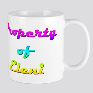 Property Of Eleni Female 11 oz Ceramic Mug