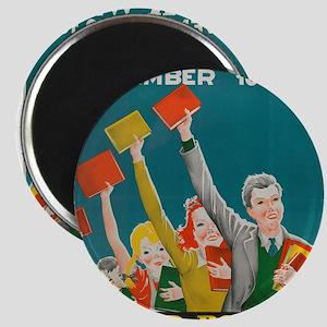1940 Children's Book Week Magnets