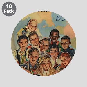 """1944 Children's Book Week 3.5"""" Button (10 Pac"""