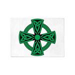 Celtic Cross 5'x7'area Rug