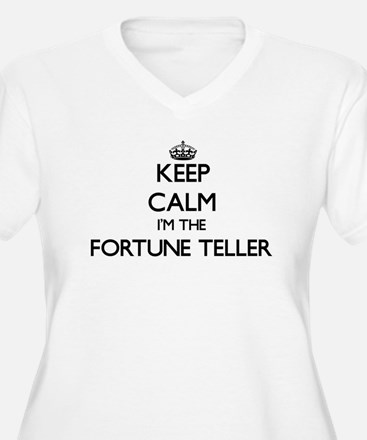 Keep calm I'm the Fortune Teller Plus Size T-Shirt