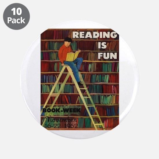 "1952 Children's Book Week 3.5"" Button (10 pack)"