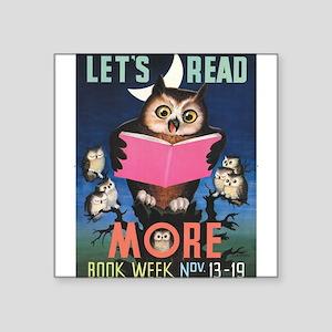 1955 Children's Book Week Sticker