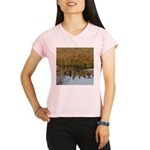 Coot on Pond Performance Dry T-Shirt