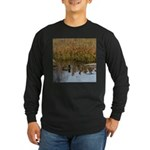 Coot on Pond Long Sleeve T-Shirt