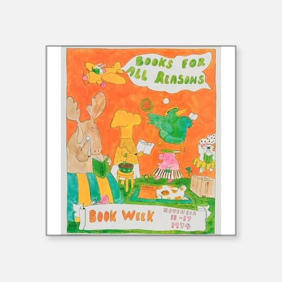 1974 Children's Book Week Sticker