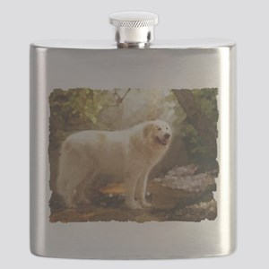 Great Pyrenees Alazon b Flask