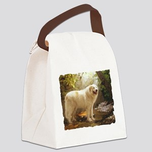 Great Pyrenees Alazon b Canvas Lunch Bag