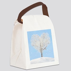 Tree of Love Canvas Lunch Bag