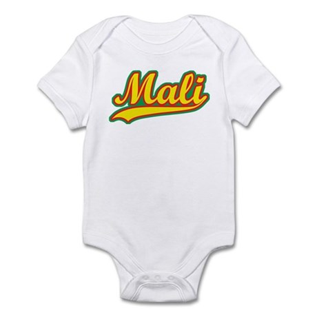Retro Mali Infant Bodysuit