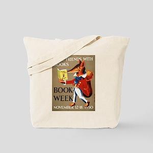 1950 Children's Book Week Tote Bag