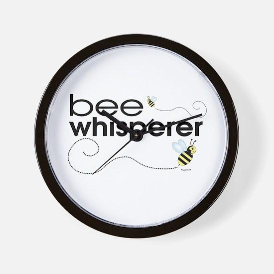 Bee Whisperer Wall Clock