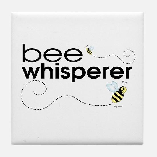 Bee Whisperer Tile Coaster