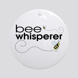Bee Whisperer Ornament (Round)