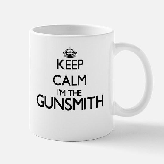 Keep calm I'm the Gunsmith Mugs