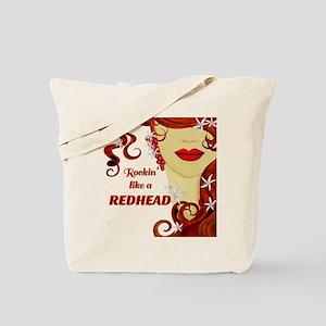 Rockin' Like A Redhead Tote Bag