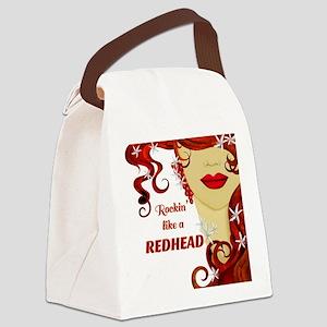 Rockin' like a REDHEAD Canvas Lunch Bag