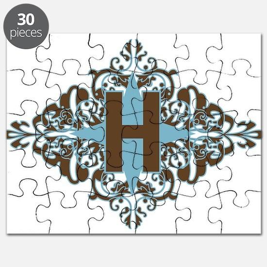 H Monogram Personalized Letter Puzzle