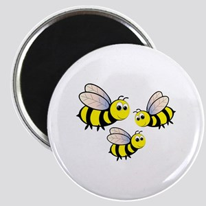 Three Bees Magnets