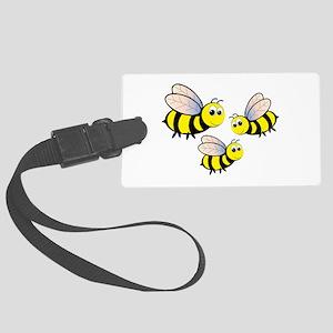 Three Bees Luggage Tag