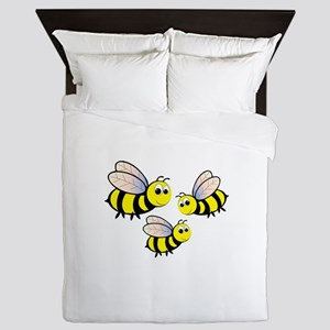 Three Bees Queen Duvet
