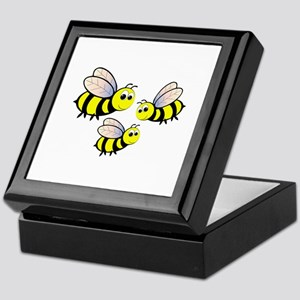 Three Bees Keepsake Box