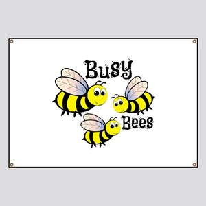 Busy Bees Banner