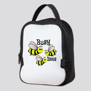 Busy Bees Neoprene Lunch Bag