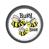 Bumble bee Wall Clocks