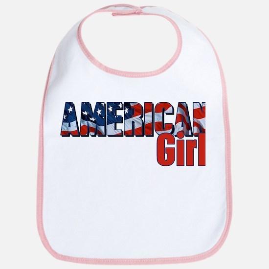 American Girl Bib