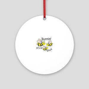 Buzzin Around Ornament (Round)