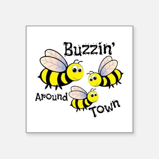 Buzzin Around Sticker