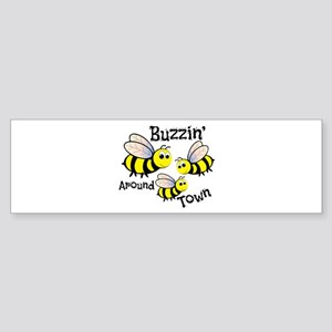 Buzzin Around Bumper Sticker