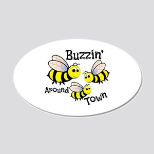 Buzzin Around Wall Decal