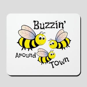 Buzzin Around Mousepad