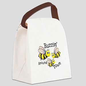 Buzzin Around Canvas Lunch Bag