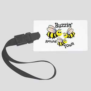 Buzzin Around Luggage Tag