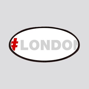 Hashtag London Patches