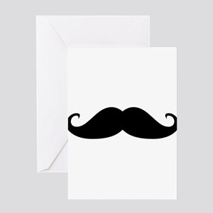 Moustache Greeting Cards