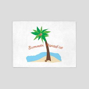 Summer Paradise 5'x7'Area Rug