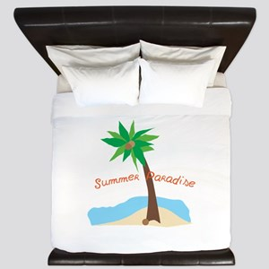 Summer Paradise King Duvet
