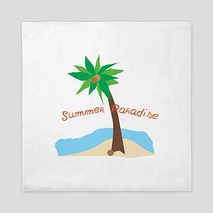 Summer Paradise Queen Duvet