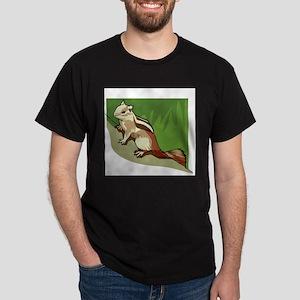 Chipmunk (Front only) Dark T-Shirt