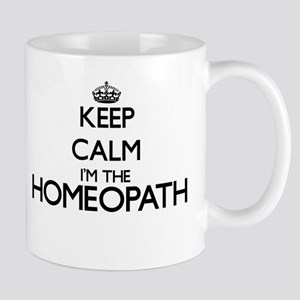 Keep calm I'm the Homeopath Mugs